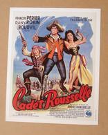Affiche - Affichette - Poster Cadet Rousselle Avec François Périer, Dany Robin, Bourvil De André Hunebelle - Posters