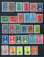 ZIBELINE EUROPA CEPT 1968 CHARNIERES   AVEC CHYPRE IRLANDE EIRE PORTUGAL ANDORRE - Sammlungen