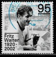 Bund 2020,Michel# 3568 O Fritz Walter - Used Stamps