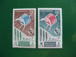NOUVELLES HEBRIDES POSTE ORDINAIRE N° 211/212 TIMBRES NEUFS** LUXE COTE 16,60 EUROS - Unused Stamps