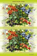 Russia 2021 Flora Berries Minisheet MNH - Obst & Früchte