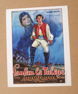 Affiche - Affichette - Poster Fanfan La Tulipe Avec Gérard Philipe, Gina Lollobrigida De Christian-Jaque - Posters
