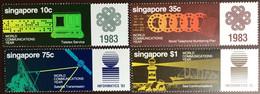 Singapore 1983 World Communication Year MNH - Singapore (1959-...)