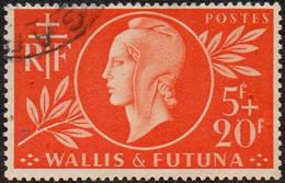 Détail De La Série Entraide Française Obl. Wallis Et Futuna N° 147 - Marianne De Dulac - 1944 Entraide Française