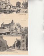 Lot 3 De Cartes , Arlon , Ferme De Birel (Birelhof + Chateau Autel-Bas + Rue Neufchateau ( Nels Série 31 N° 35 , 48 , 62 - Arlon