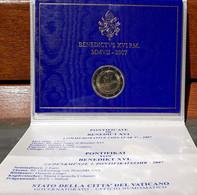 Monnaies Euro Vatican  2 Euros 2007: 80 Ans Benoît XVI - Vatican