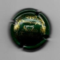 Capsule De Champagne Nicolas Feuillatte (fond Vert Foncé) - Feuillate