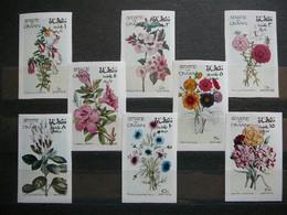 Flowers # Oman 1972 MNH # Imperf. - Sonstige