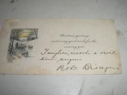BIGLIETTO AUGURI DI NATALE - Visiting Cards