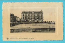 * Middelkerke (Kust - Littoral) * (Nels, Ern Thill) Grand Hotel De La Plage, Digue, Dijk, Tram, Vicinal, Tennis, Old TOP - Middelkerke