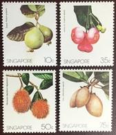 Singapore 1986 Fruit MNH - Obst & Früchte