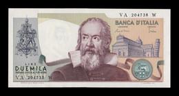 Italia Italy 2000 Lire Galileo Galilei 1983 Pick 103c SC UNC - 2000 Lire