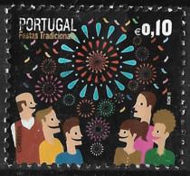 Portugal – 2011 Popular Festivals 0,10 Used Stamp - Used Stamps