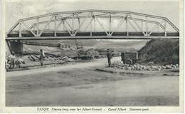 CANNE : Nieuwe Brug Over Het Albert Kanaal - Canal Albert Nouveau Pont - TRES RARE VARIANTE  - Cachet De La Poste 1934 - Visé