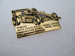 TOP  PIN'S MONOPLACE FORMULE 3 ROMAIN THILL VOLVO TOMCAT Email Grand Feu DEHA - F1