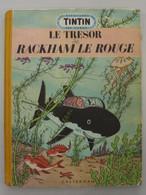 TINTIN LE TRESOR DE RACKHAM LE ROUGE - 1952 - B7 - Hergé - Tintin