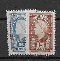 1946 MNH Suriname NVPH LP  27-28 - Suriname ... - 1975
