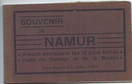 Souvenir De Namur  ( Carnet De 7 Cartes ) Gare Avec Tram Etc. - Brussels (City)