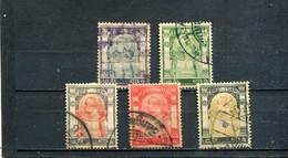 Siam 1906 Yt 52-56 - Siam