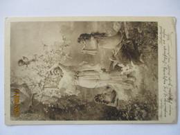 Künstlerkarte Zatzka, Frauen Liebestrank, Österreich 1916 (67285) - 1900-1949