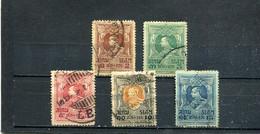Siam 1920 Yt 158-162 - Siam