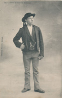 Folgoët (29 Finistère) Jeune Homme édit Villard N° 1957 - Oblitération Rare Convoyeur Lesneven à St Pol De Léon 1909 - Andere Gemeenten