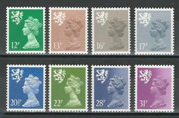 Scotland SG S 37, 39, 42, 43, 46, 48, 50, 51 ** MNH - Scozia