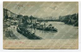 AK Gruß Aus Wien - Stefaniebrücke, Heute Salztorbrücke (3183) - Wien Mitte