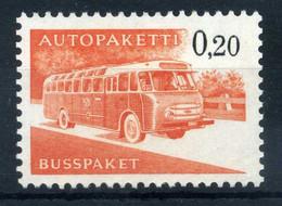1963 FINLANDIA PACCHI POSTALI N.11 MNH ** - Paketmarken