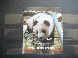 Panda Bears # Russia - Tuva(Touva) MNH #Pandas - Beren