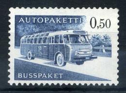 1963 FINLANDIA PACCHI POSTALI N.12 MNH ** - Paketmarken