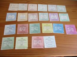 LOT Catégorie Rare M L D H6   Vignette Automobile D'époque (taxe Auto) Lot Fiscaux Fiscal   Paypal Possible - Fiscali