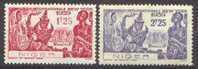 Détail De La Série Exposition Internationale De New York * Niger N° 67 Et 68 - 1939 Exposition Internationale De New-York