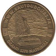 25-1054 - JETON TOURISTIQUE MDP - Le Saut Du Doubs - Grand Site National- 2010.2 - 2010