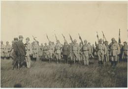 51) Photo Front De Champagne, Remise De Décoration Par Le Général Gouraud 1917 - Oorlog, Militair