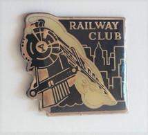 QQ80 Pin's SNCF TGV Train Vapeur RAILWAY CLUB Achat Immédiat - TGV