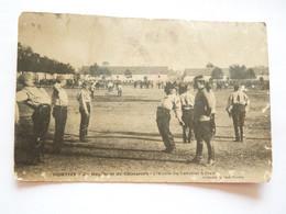 Pontivy. 2 Ième Régiment De  Chasseurs  L' école Du Cavalier à Pied Petit Prix - Pontivy