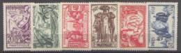Détail De La Série Exposition Internationale De Paris * Martinique N° 161 à 166 - 1937 Exposition Internationale De Paris