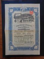 AUSTRALIES - THE WHIM WEEL COPPER MINES - TITRE DE 1 ACTION DE 1 £ - LONDRES 1910 - Zonder Classificatie