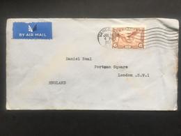CANADA 1937 Air Mail Cover Vancouver To London - Brieven En Documenten