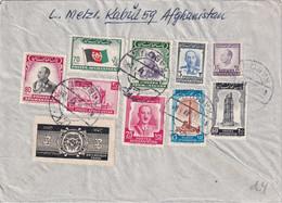 AFGHANISTAN 1953 PLI AERIEN DE KABOUL - Afghanistan