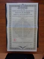 ROUMANIE - SPECIMEN NON EMIS, PEU COURANT - EMPRUNT 1931 -  7 1/2% OR - OBLIGATION DE 5 000 FRS - Zonder Classificatie