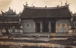 ¤¤  -   SINGAPOUR   -    Carte-Photo   -  Chinese Temple  -  Singapore     -   ¤¤ - Singapore