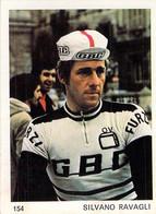 CYCLISME: CYCLISTE : CHROMO BELGE - FORMAT 5X6.7:SILVANO RAVAGLI - Cycling