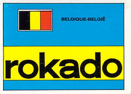 CYCLISME: CYCLISTE : CHROMO BELGE - FORMAT 5X6.7:EQUIPE ROKADO - Cycling
