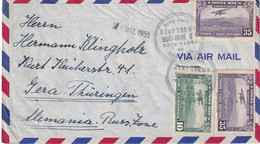 COSTA RICA 1955 PLI AERIEN DE LINCA VIEJA - Costa Rica
