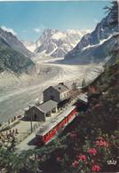 CHAMONIX MONTBLANC LE TRAIN DE MONTENVERS (dil26) - Chamonix-Mont-Blanc