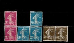 Frankreich 185, 187 - 188 Säerin ** MNH Postfrisch Neuf - Unused Stamps