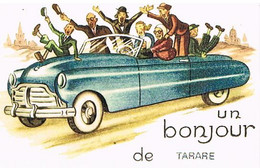 69 UN BONJOUR   DE    TARARE  CPM  TBE   34 - Tarare