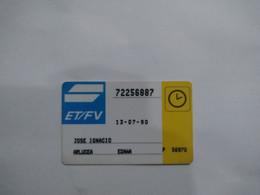Spain Transport Cards, (1pcs) - Non Classificati